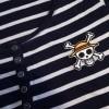 T-shirt scheletro